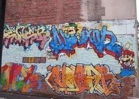 Pulitore detergente per graffiti